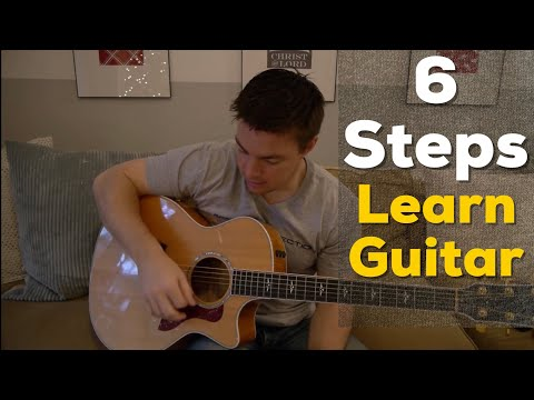 Steps To Learn Guitar