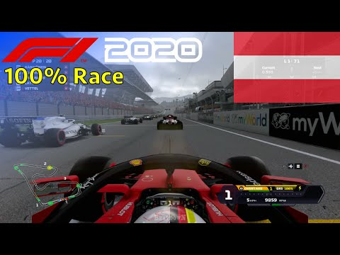F1 2020 - Seb's Final Ferrari Season #11: 100% Race Austria