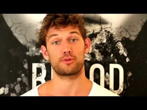 Alex Pettyfer: PreOrder tion for BLOOD, INK & FIRE!