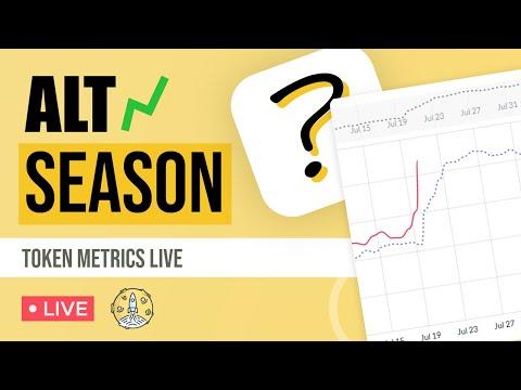 LIVE: Biden To Push Bitcoin To The Moon? Alt Season Soon? Token Metrics Live