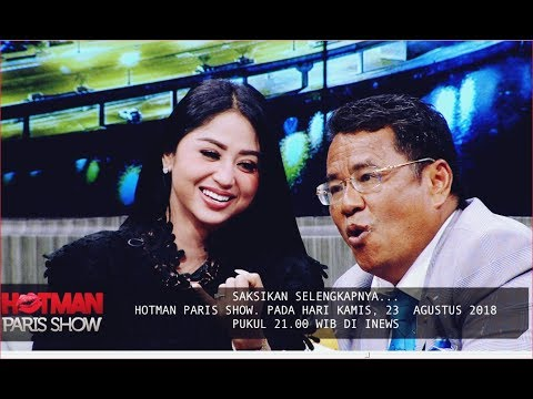 WUIH!! Kuat Goyang, Dewi Persik Bongkar Urusan Ranjang di Hotman Paris Show 23 Agustus 2018