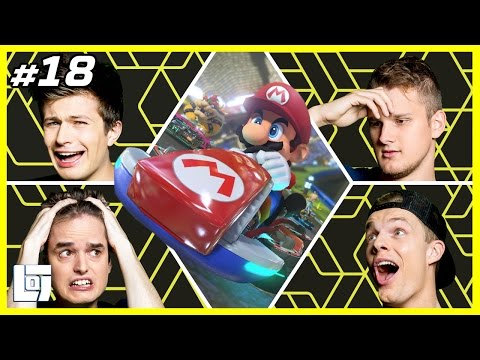 Mario Kart 8 met Don, Enzo, Ronald en Ward   XL Battle   LOGNL #18