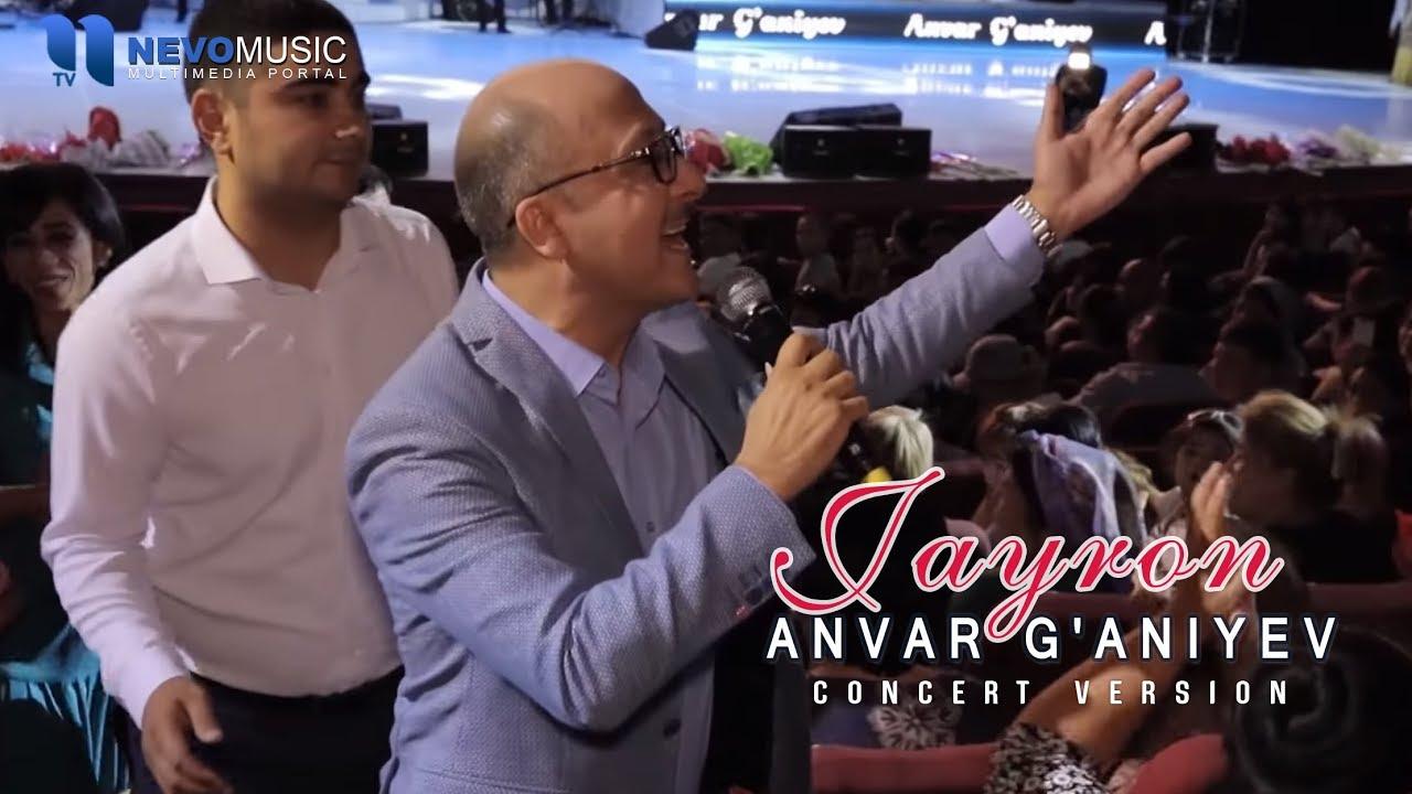 Anvar G'aniyev - Jayron (Konsert 2017) MyTub.uz TAS-IX