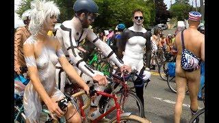 Nudist tubes parades Euros free street
