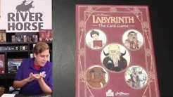 Unboxing Jim Henson's Labyrinth: The Card Game - River Horse Live 2nd August 2019