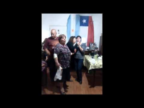 Celebrando mi cumple y las Fiestas Patrias de Chile en Buenos Aires.