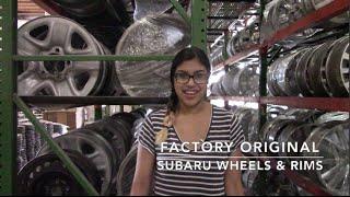 Factory Original Subaru Wheels & Subaru Rims – OriginalWheels.com