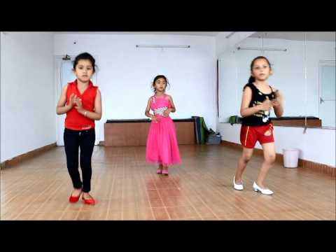 Engine Ki Seeti Kids Dance Video| Khoobsurat | Sonam Kapoor By DANSATION 9888892718