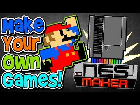 MAKE YOUR OWN NES GAMES! NES MAKER!! - NESmaker