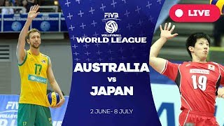 Australia v Japan - Group 2: 2017 FIVB Volleyball World League