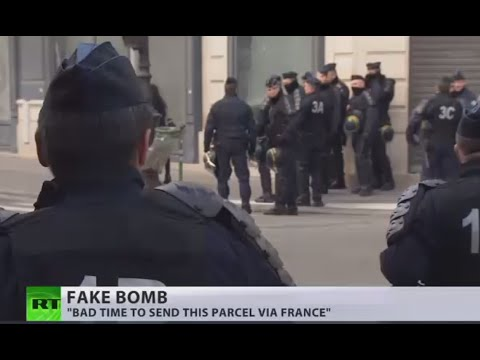 Panic in Paris airport: Fake bomb found 'on route' to US embassy in Tunisia