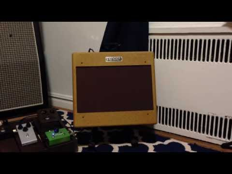 Fender Tweed Deluxe 5b3 Clone Clean and Dirty (Apartment Volumes)