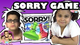 SORRY GAME FIRE AND ICE: Challenges For Kids/ 4 Kids Toy Review