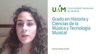 Historia y ciencias de la musica uam