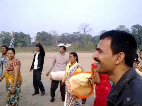 Bihu dance at Sitakunda,2nd jan 2011