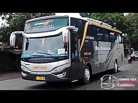 Telolet Bus HDD Dedy Jaya-Sri Agung-Fachrial Trans-Daffa Trans (Hunting Di Area Kediri)-Om Telolet!!