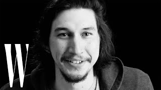 Adam Driver on Crying While Eating and Being a Child of Divorce | Screen Tests | W Magazine