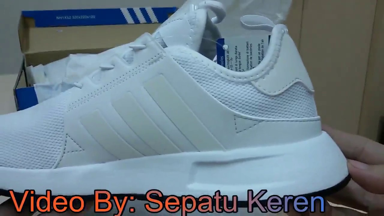 detailed look a0480 631ea Unboxing Review sneakers Adidas X plr BB1099