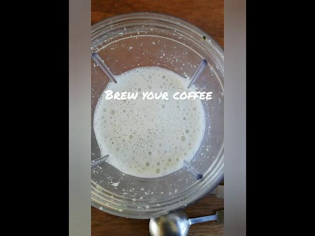 Hemp Milk Coffee Latte