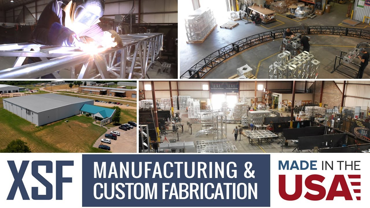 Lighting & Stage Truss Manufacturing | Xtreme Structures & Fabrication