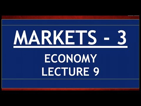 Economy for UPSC - Lecture 9 - Markets Part 3 - Derivatives, Options, Futures, Forwards.