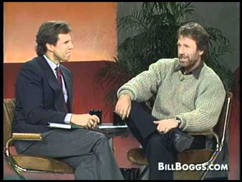 Chuck Norris Interview with Bill Boggs