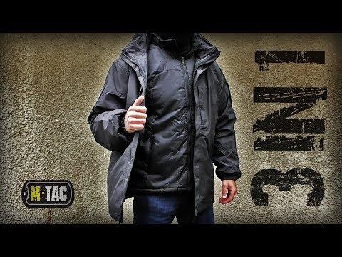 Зимняя куртка ПАРКА 3 IN 1 М-ТАС/Tactical Jacket