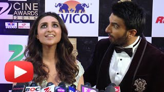 Watch : Parineeti Chopra Sings Live | Meri Pyaari Bindu | Zee Cine Awards 2016
