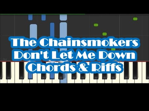 The Chainsmokers - Don\'t Let Me Down Easy Piano Tutorial - How To ...