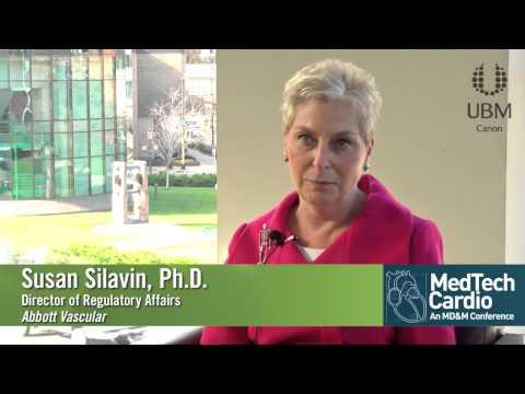 Sue Silavin at the Medtec Cardio Conference Minneapolis