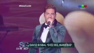 ¡Cierre musical de lujo! David Bisbal canta en vivo - Susana Giménez