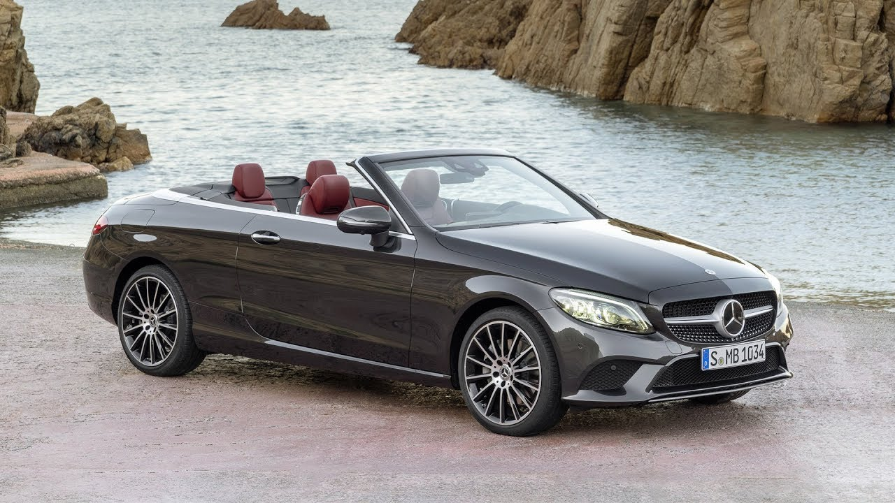 2019 Mercedes Benz C Class Cabriolet Exterior Interior Design