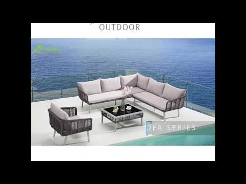 Outdoor Furniture Wicker Sofa Chair set for Garden Bacolny Pools