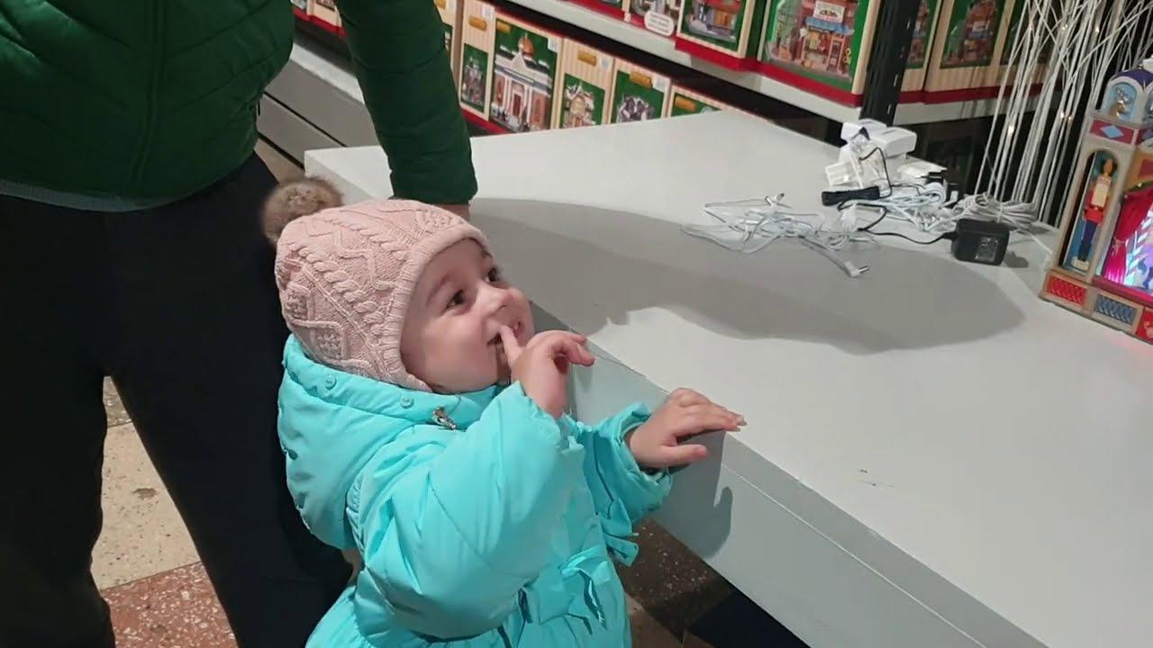 VLOG: ყველაფერერი ვიყიდეთ || საახალწლო მაღაზიები გაიხსნა || Christmas village