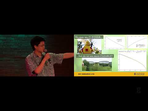 2017 Research Live! Finalist: Derek Jung - Seeing further or more clearly