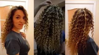 як зробити кучері на довге волосся за допомогою прасування