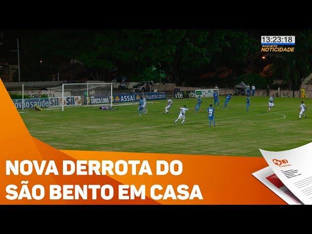 Nova derrota do São Bento em casa - TV SOROCABA/SBT