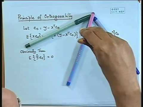 Lec-11 Linear Mean Sq.Error Estimation