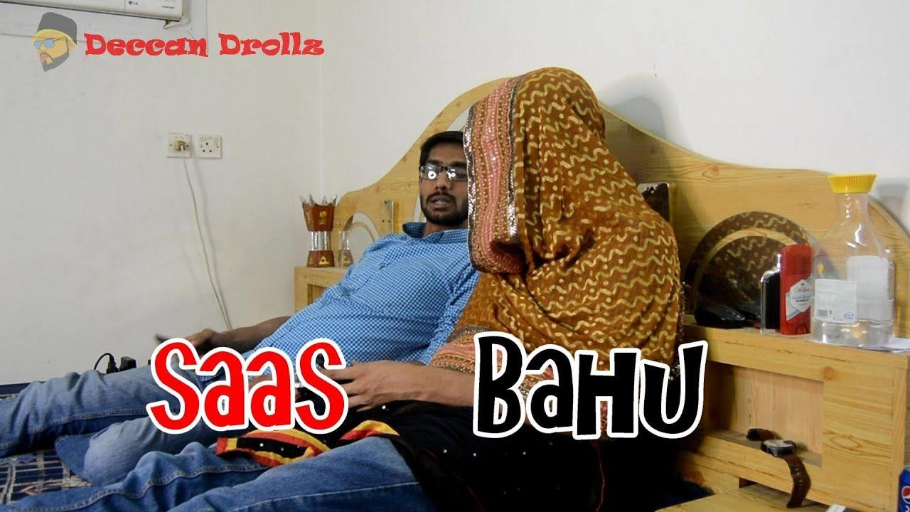 Saas Bahu comedy    Deccan Drollz    hyderabadi comedy