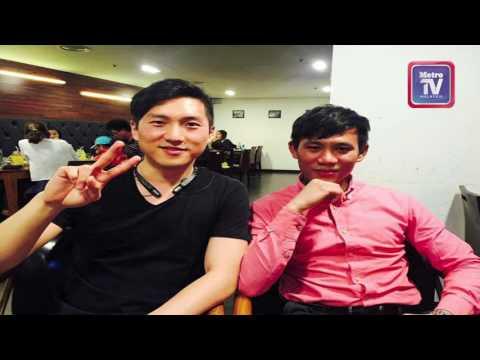 Perkenal Malaysia di siaran televisyen Korea Selatan