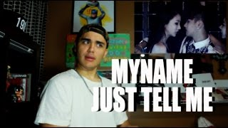 MYNAME - Just tell me MV Reaction