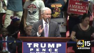 FULL: Sen Jeff Sessions speaks at Donald Trump rally in Austin, TX Free HD Video