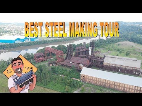 Best Steel Mill Tour! Carrie Furnace Blast Furnaces  Pittsburgh, Pa