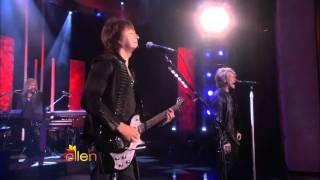 Bon Jovi   You Give Love a Bad Name Live on Ellen DeGeneres