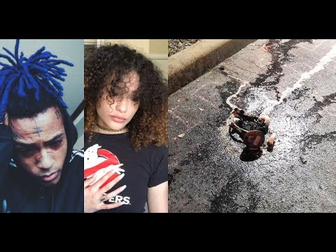 Geneva Kicked Out of XXXTentacion Vigil & Her Things Got Burned! She Cries & Goes Off