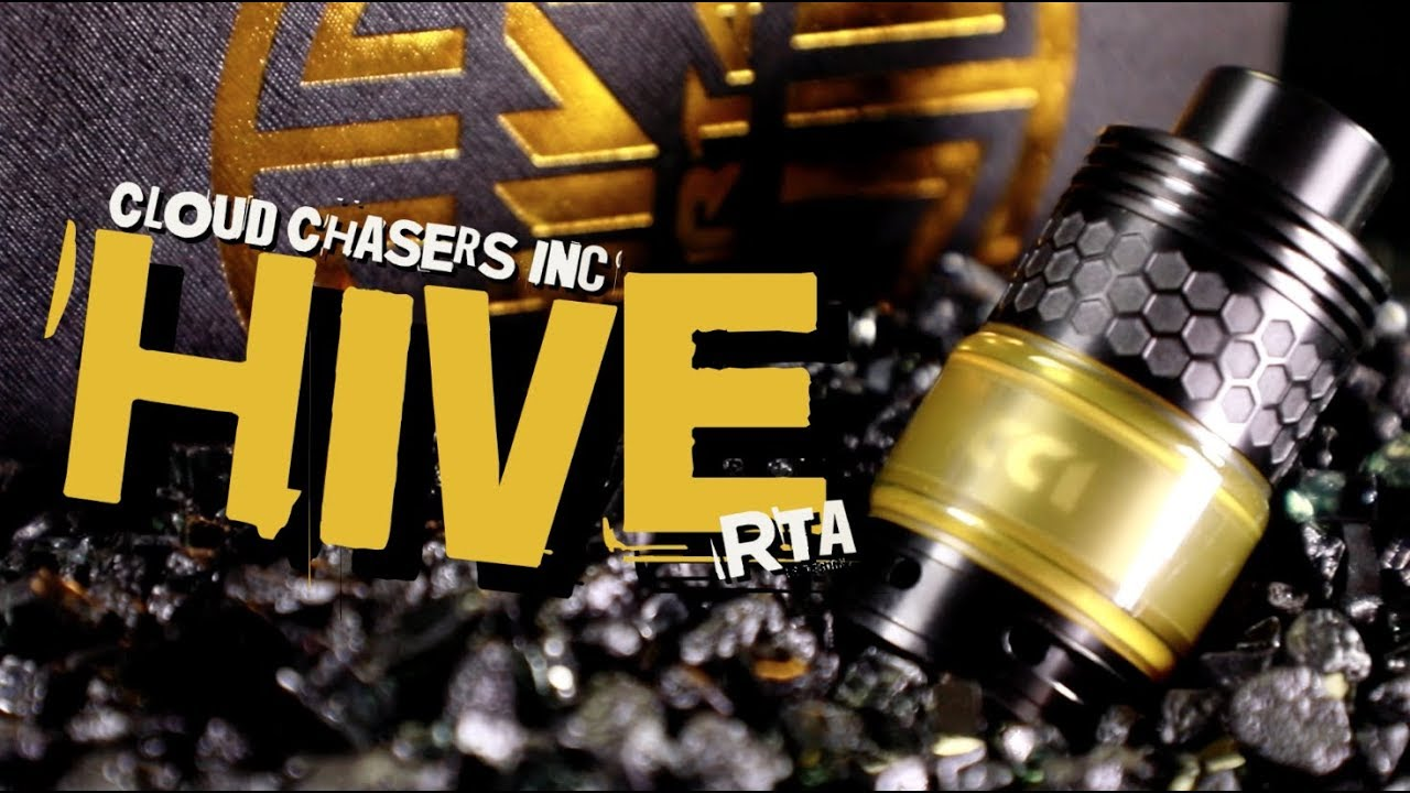 HIVE RTA by Cloud Chasers Inc (Vape RTA Review)