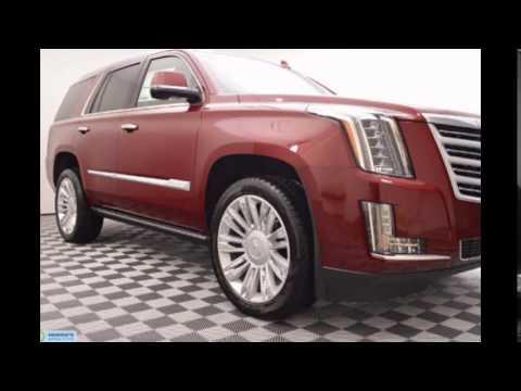 2016 Cadillac Esv Red Pion Tintcoat