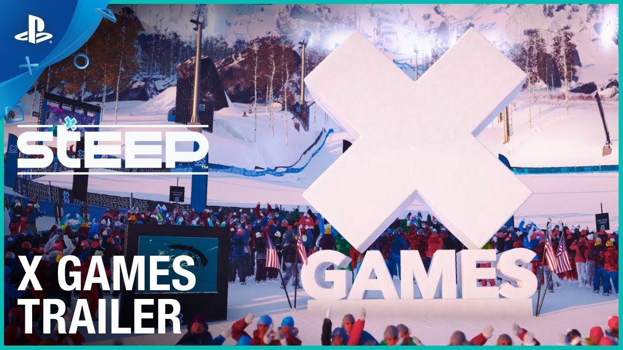 Steep - X Games DLC Announcement Trailer | PS4