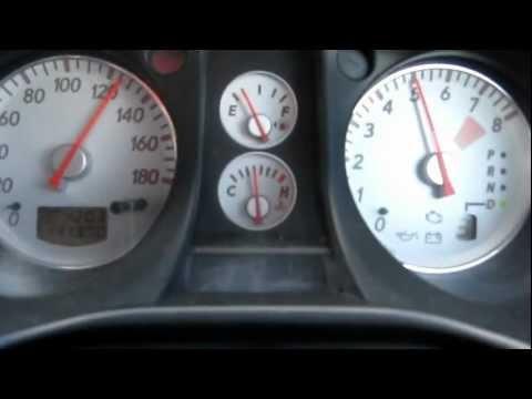 Mitsubishi Airtrek Turbo-R 2003 0-180 km/h / Разгон от 0 до 180 км/ч