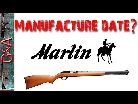 Marlin Date Code From Serial Number